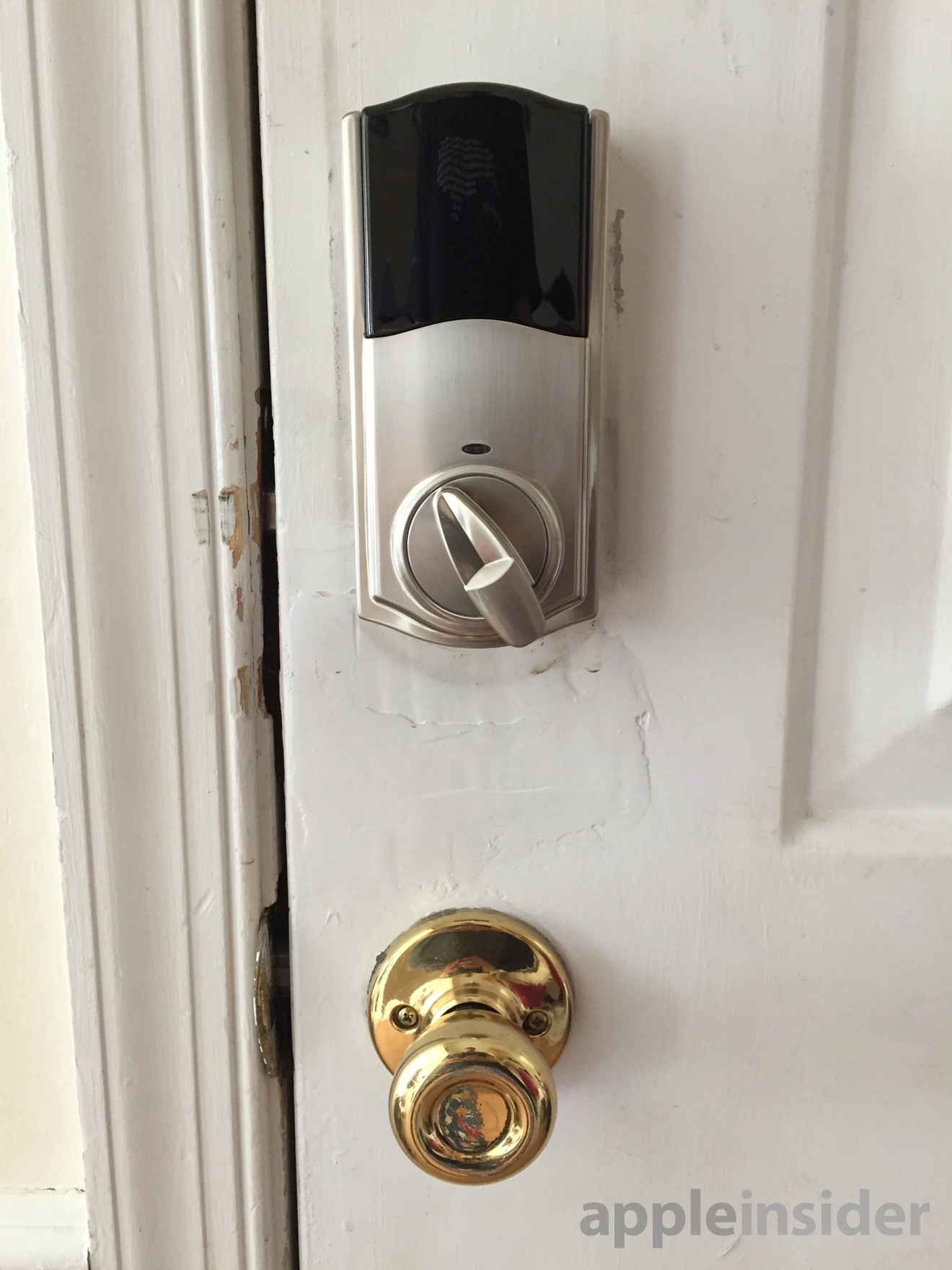The interior size is much reduced from previous locks, including Kwikset's own Kevo and Kevo2