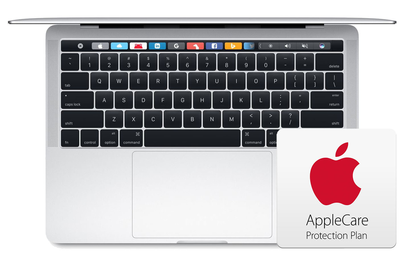 13 inch TouchBar with AppleCare
