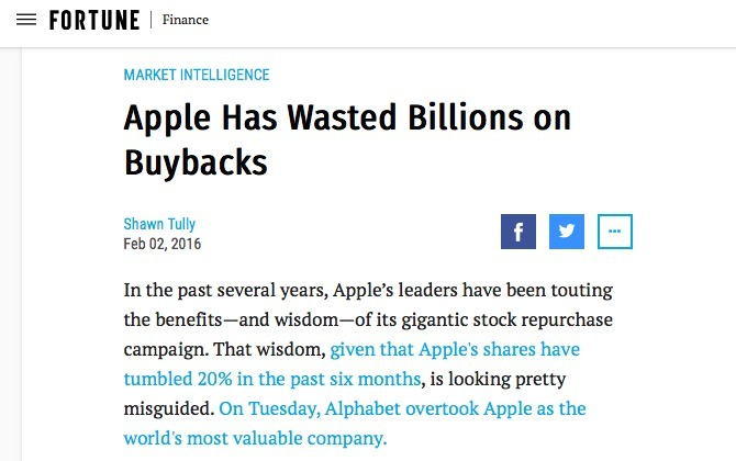 Fortune AAPL
