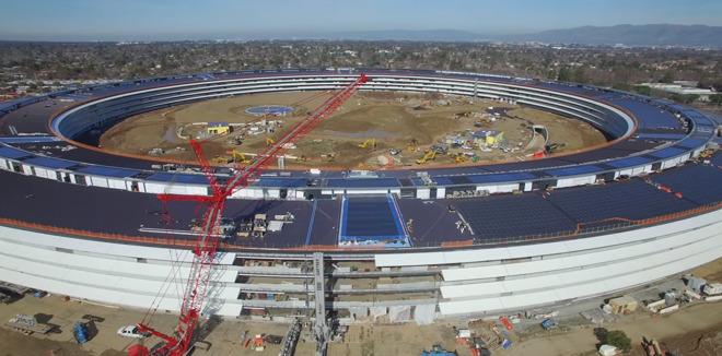 New video montage shows gradual evolution of Apple Park