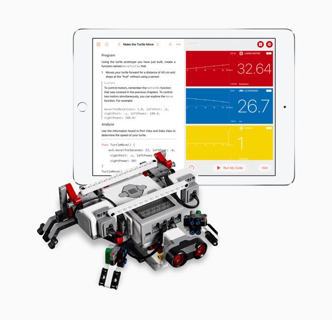Apple's Swift Playgrounds 1 5 will teach kids how to write