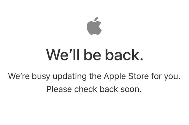 Apple's online store goes dark ahead of WWDC keynote ...