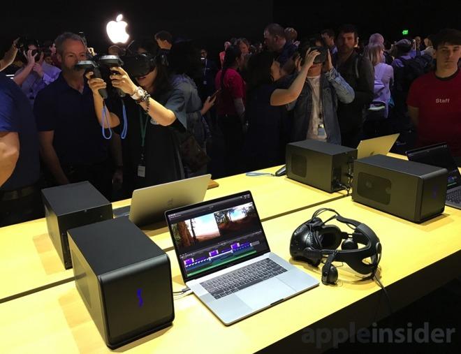 Apple eGPU dev kit requires external monitor, nothing unique
