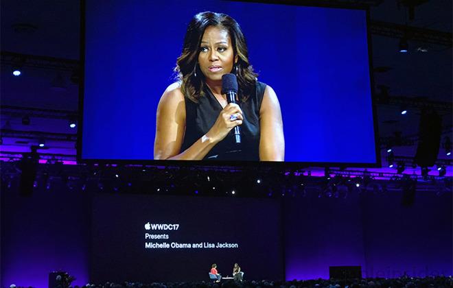 Michelle Obama talks entrepreneurship, social issues, more ...