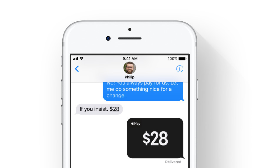 Apple Pay person-to-person transfers will be free with debit card, incur 3%  fee with credit card | Appleinsider