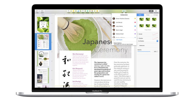 Apple updates iWork apps for Mac & iOS with new shape