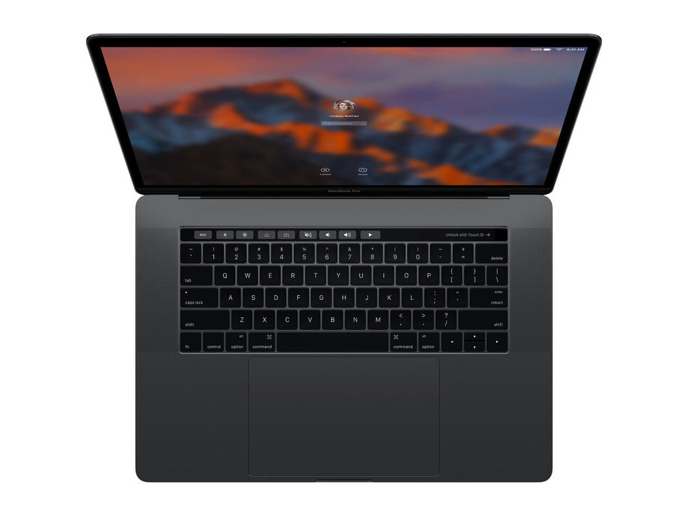 2017 15 inch MacBook Pro with Touch Bar Kaby Lake