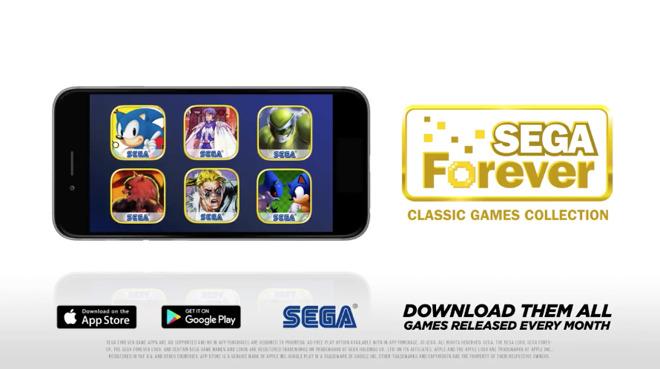 Sega Forever' brings classics like Sonic, Phantasy Star to