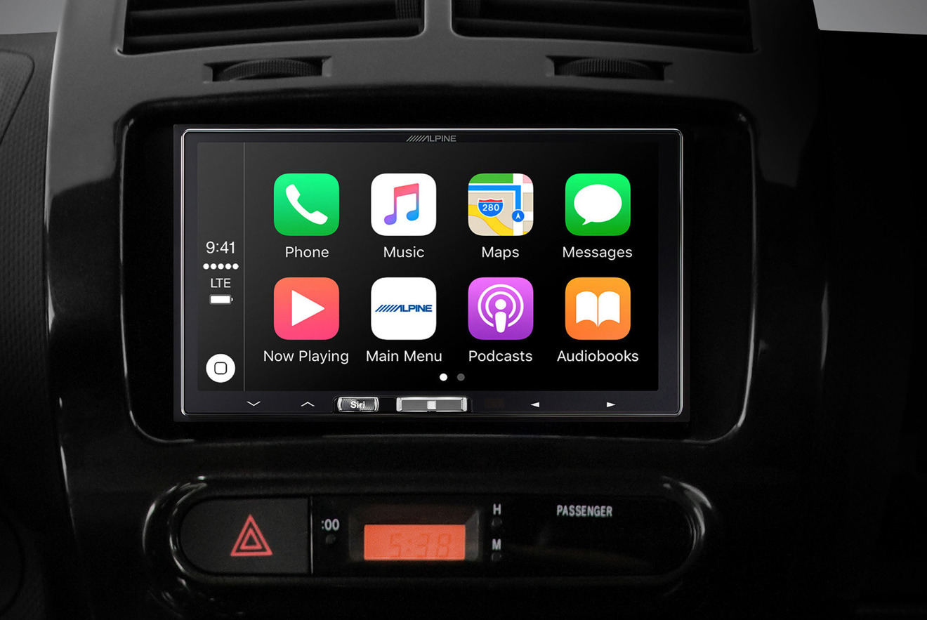 alpine delivers   dash wireless carplay receiver   install