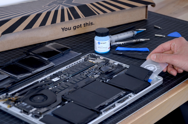 "Fix Kit Battery Compatible with MacBook Pro 15/"" Retina Mid 2015"