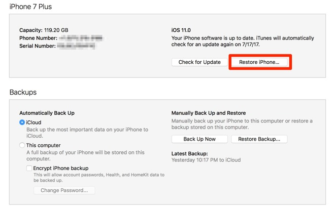 How to reset and get into a locked iPhone or iPad