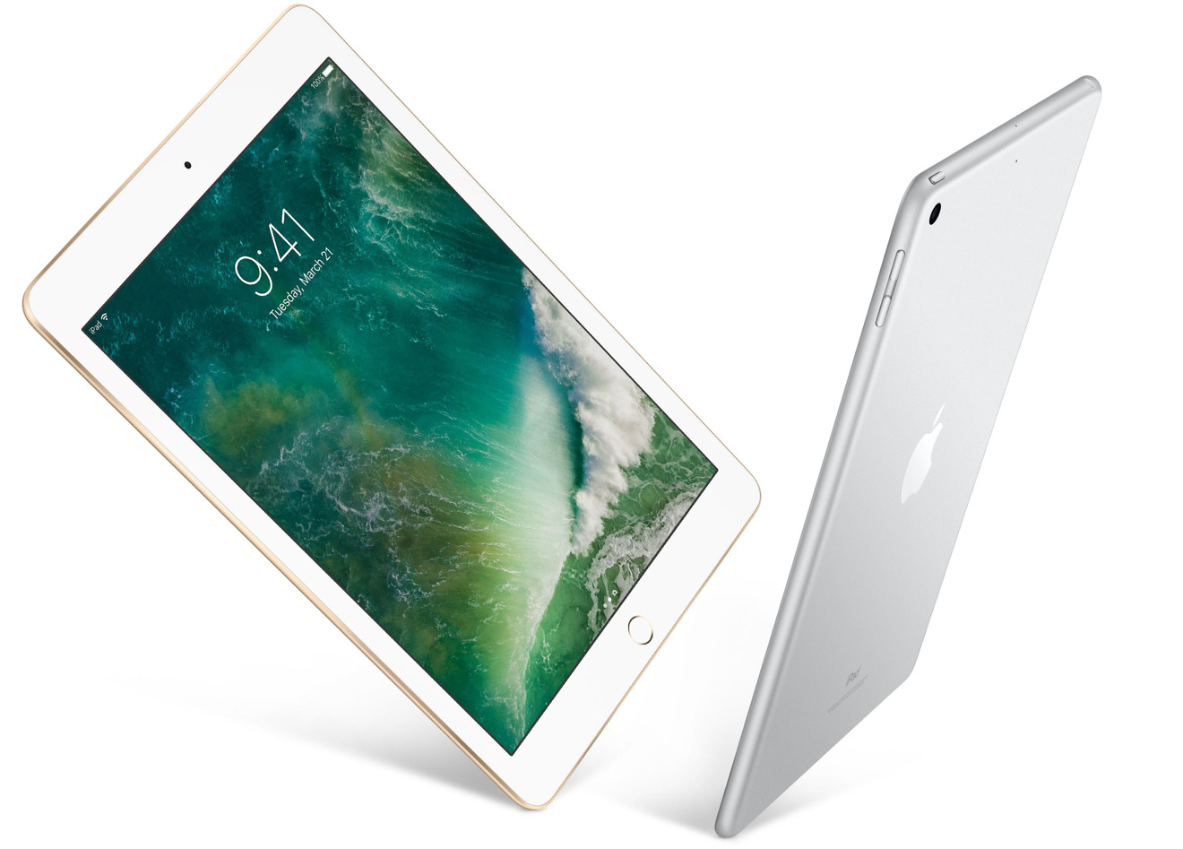 Apple 2017 iPad in Gold and Silver