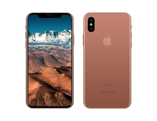 Rumors Tap Apples New IPhone 8 Color As Blush Gold Models Coming In 64 128GB