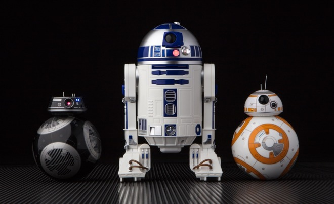 Sphero rolls out BB-9E, R2-D2 droid toys controllable by