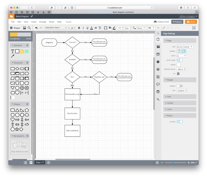Hands On Lucidchart Online Service For Macos And Ios Reminiscent Of