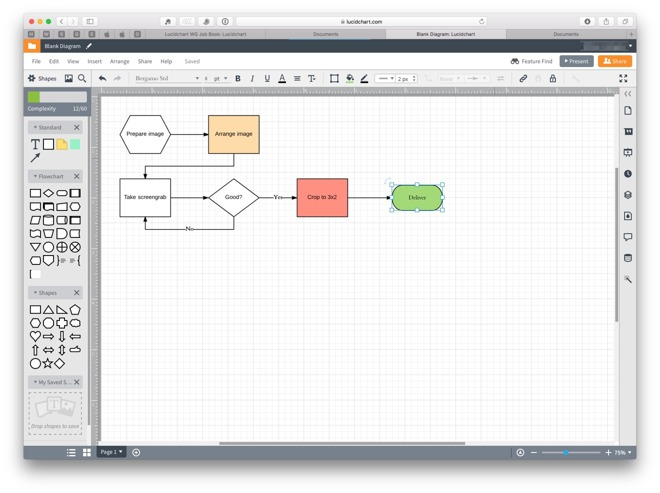 Hands On: Lucidchart online service for macOS and iOS