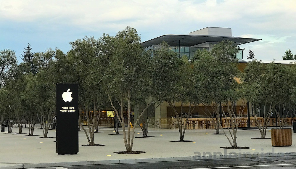 A sneak peak at iOS 11 Augmented Reality at the Apple Park Visitor Center