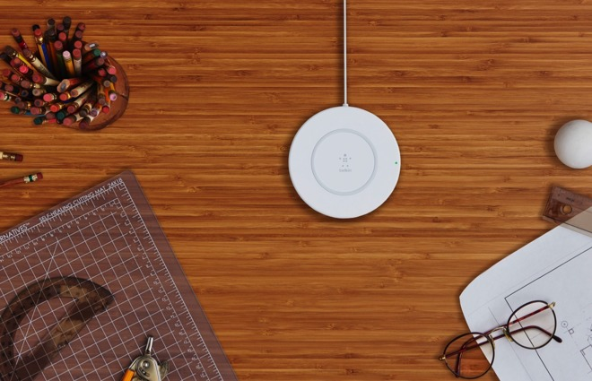 Belkin Boost Up Qi Compatible Wireless Charging Pad Arriving For