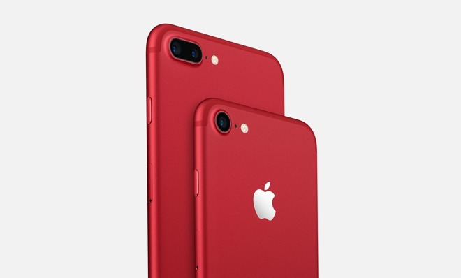 various colors 1944c ffdd3 Apple discontinues (Product)Red iPhone 7, ups iPad Pro pricing