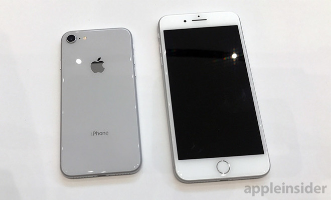 cheap for discount 9efa7 bb061 First look: iPhone 8 series with A11 Bionic chip, wireless charging ...
