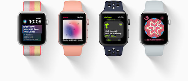 apple launches watchos 4 for apple watch with improved activity workout tracking revamped. Black Bedroom Furniture Sets. Home Design Ideas