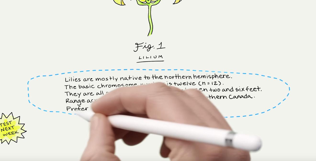 Apple posts new iPad tutorial videos highlighting iOS 11 features like handwriting conversion