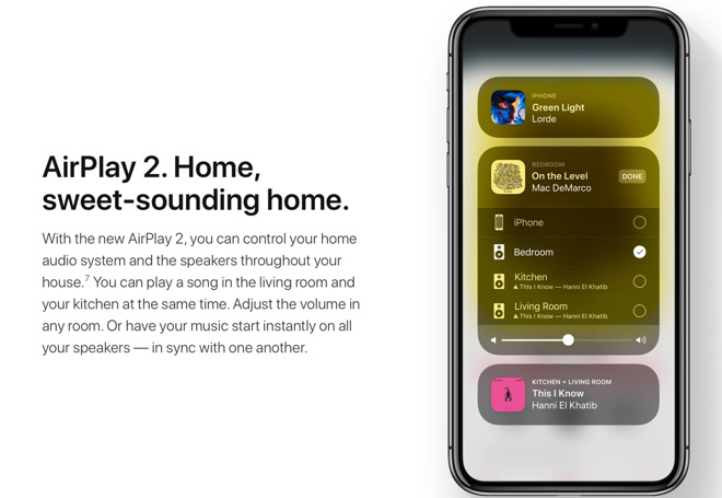 Apple's AirPlay 2 not currently functional in iOS 11 devices