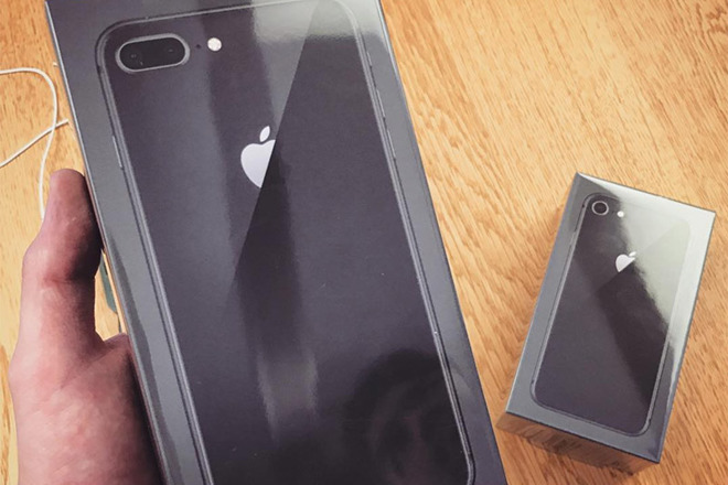 hot sale online cf37d 5628b First iPhone 8, Apple Watch Series 3, Apple TV 4K pre-orders arrive ...