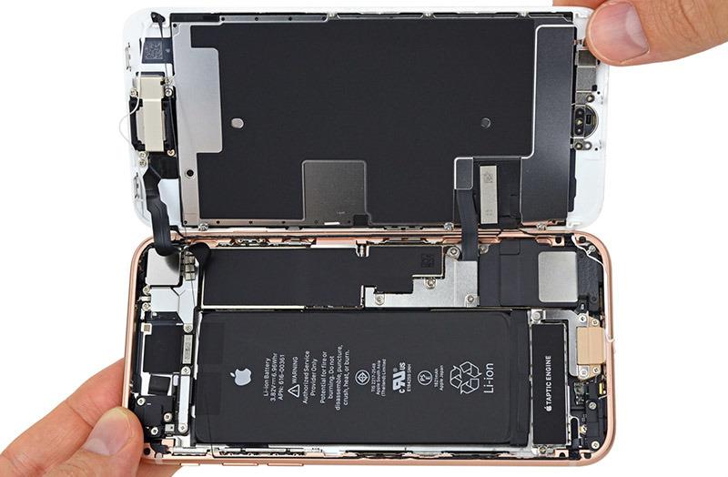 First iPhone 8 teardown reveals few internal design changes [u]