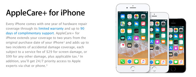 newest 03e50 a9088 AppleCare+ iPhone 8 back screen glass replacement $99, not screen ...