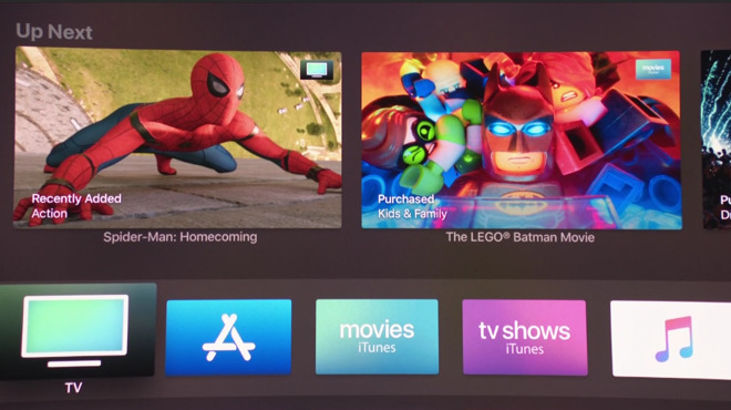 Reminder: Apple says it's only streaming 4K iTunes movies, not