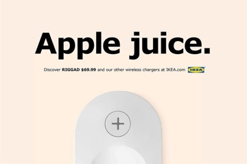 Ikea 'This Charges Everything' ad campaign for iPhone 8 Qi