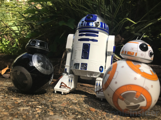 Review: Sphero R2-D2 and BB-9E from 'Star Wars: The Last Jedi' are