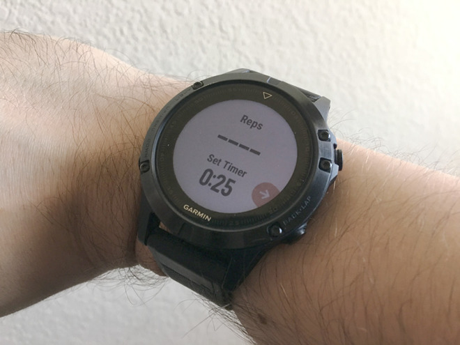 Garmin update could point the way for better strength