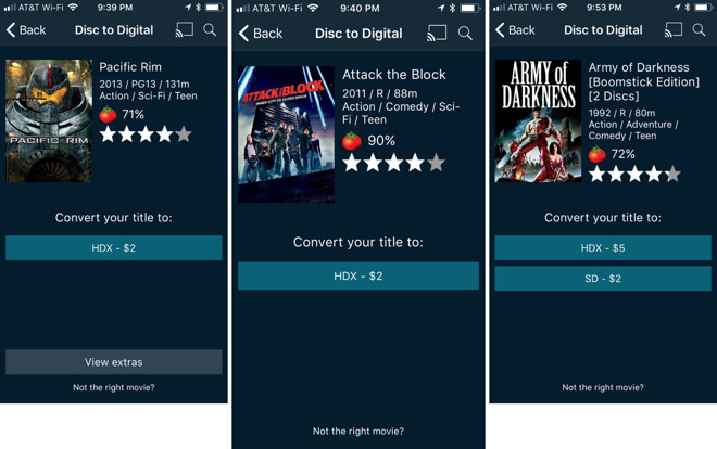 Tip: Convert physical Blu-ray and DVD discs to iTunes with Vudu and