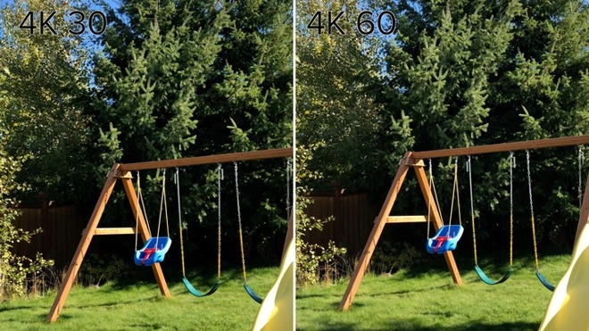 Video See How Iphone 8 4k 60fps Video Sacrifices Some Picture