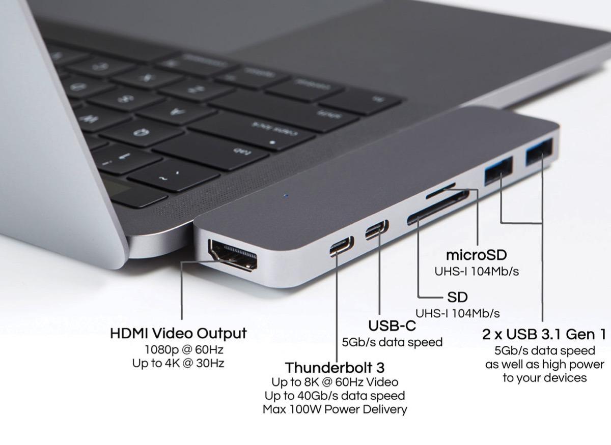HyperDrive Thunderbolt 3 Hub