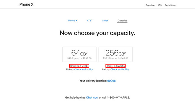 Apple Sells Out Of Launch Day IPhone X Supply In Matter Of Minutes - Apple iphone invoice