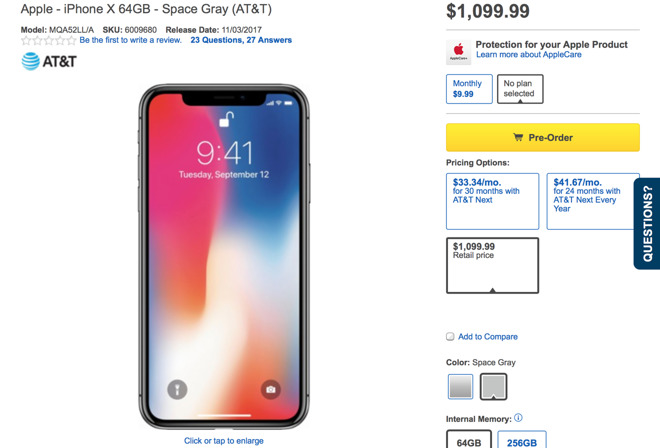 Just As It Did With IPhone 8 Best Buy Tacks 100 Extra Onto Upfront Payments For X U