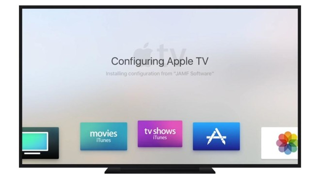 Apple TV enterprise