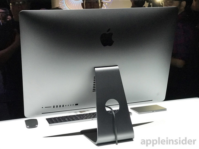Imac Pro Used For Demo Station Photographed At Final Cut
