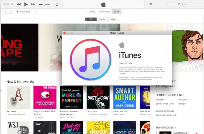 download itunes 12.7 on mac
