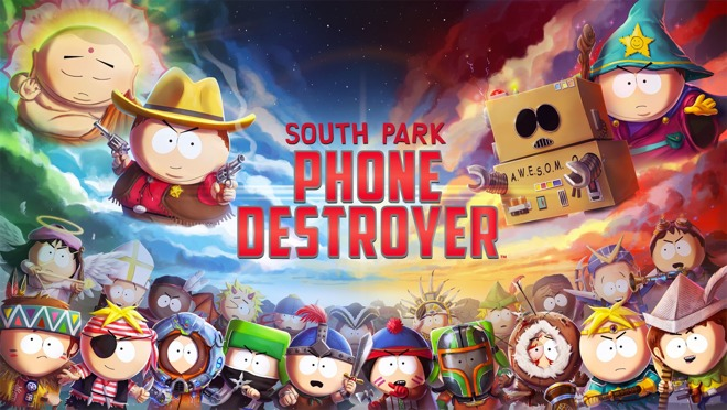 Free-to-play 'South Park: Phone Destroyer' and 'PES 2018