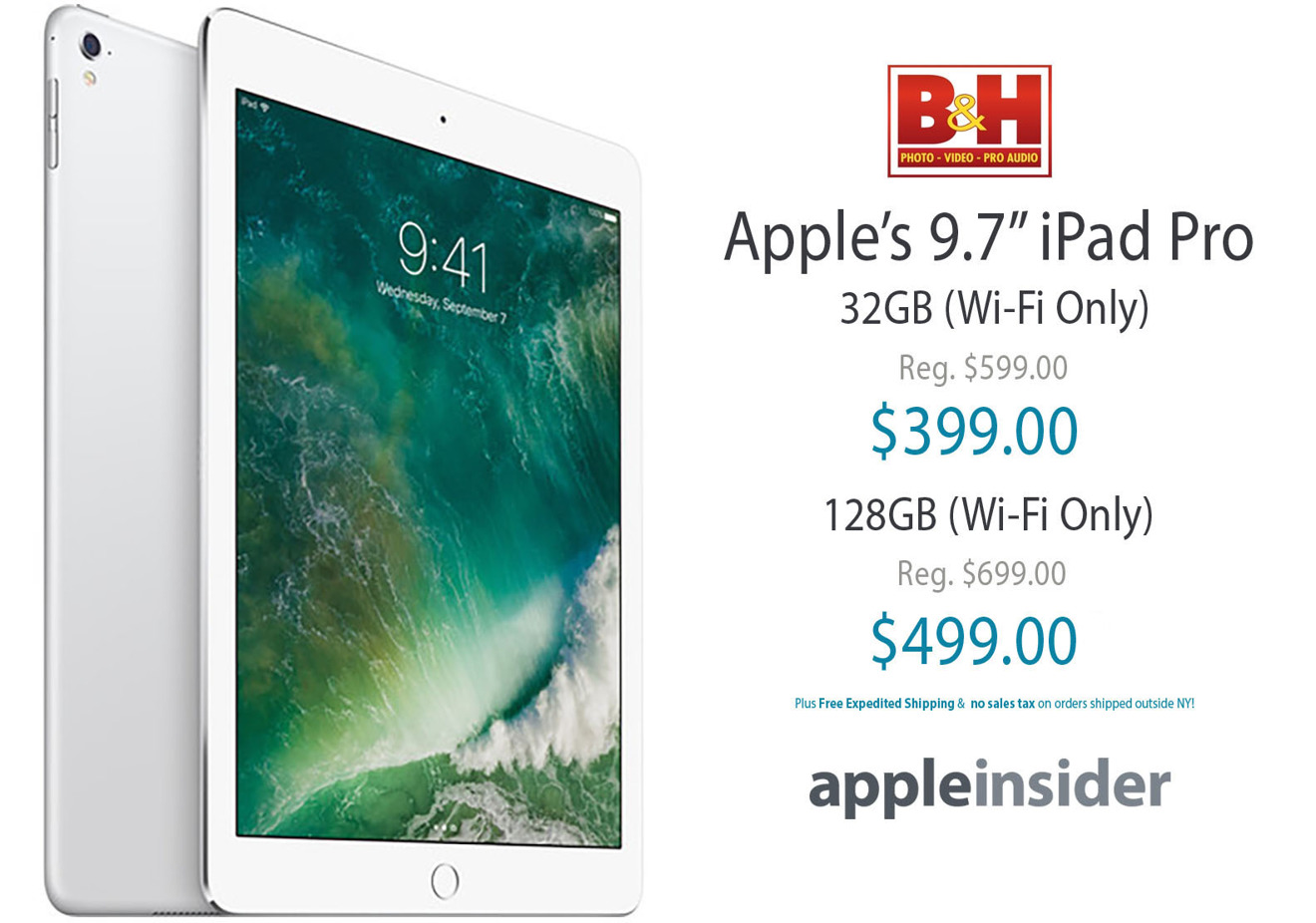 Apple iPad Pro for $399