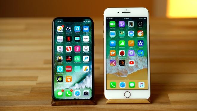 Iphone 8 Vs Plus Vs X
