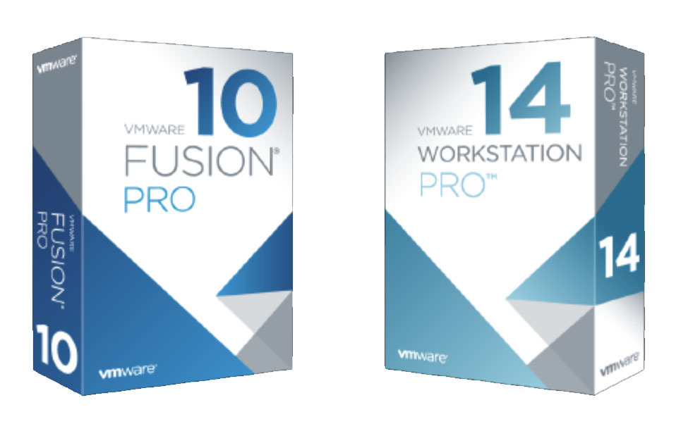 VMware Workstation 14 Pro and Fusion 10 Pro