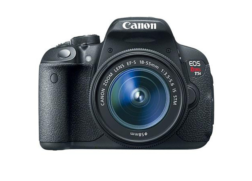 Canon EOS Rebel T5i DSLR Camera with EFS lens