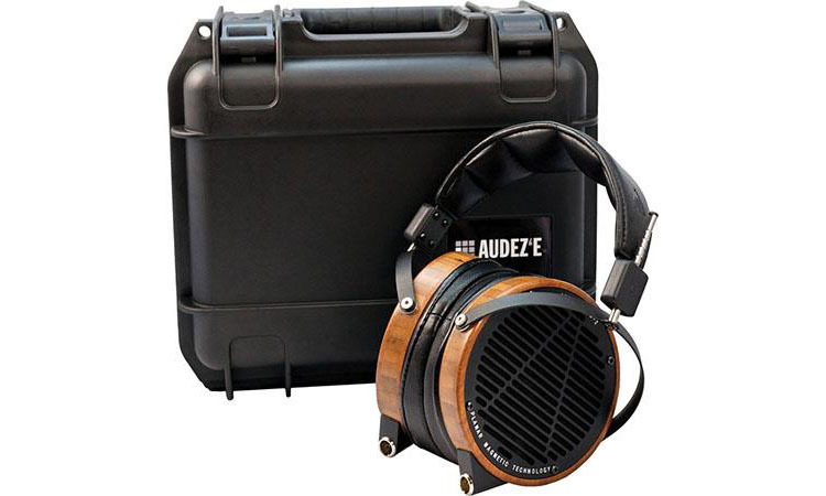 Audeze LCD 2 Planar Magnetic Headphones Bamboo with Lambskin Leather