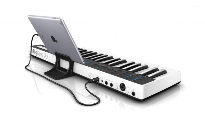 IK Multimedia ships iRig Keys I/O keyboard MIDI interface