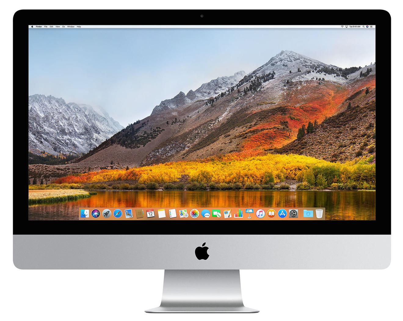 Apple Mid 2017 27 inch iMac 5K with High Sierra